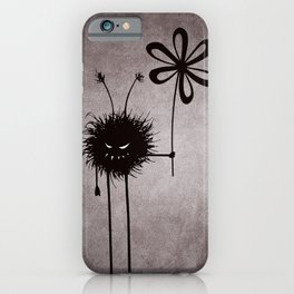 Evil Flower Bug iPhone Case