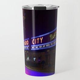 Reflections of Radio City Music Hall Travel Mug