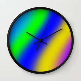 gradien background Wall Clock