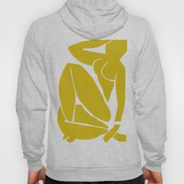 Matisse Cut Out Figure #3 Mustard Yellow Hoody