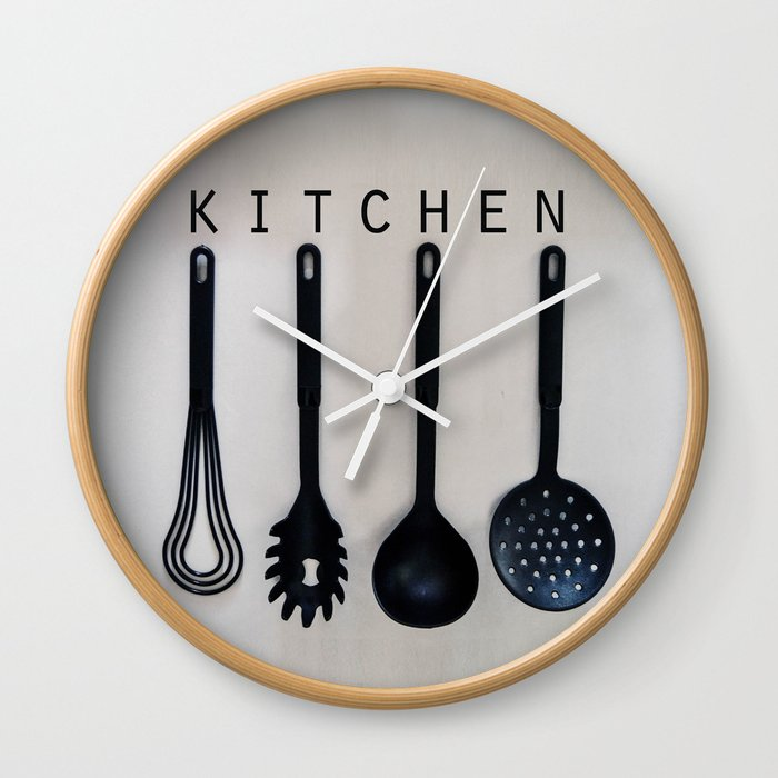 Kitchen Wall Clock By Madis Society6