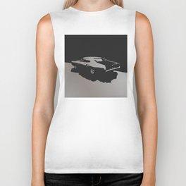 Mercury Marauder, Gray on Black Biker Tank