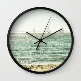 These Summer Days Wall Clock