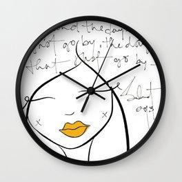 The Days ©SABET Wall Clock