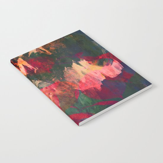 It's Complicated, Abstract Leaves Notebook