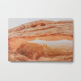 Arches National Park XIV / Utah Desert Metal Print