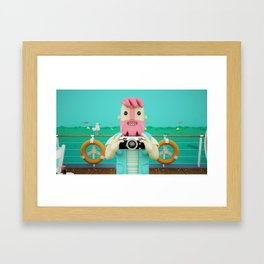 Cruisn Framed Art Print
