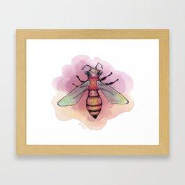 Sweet Bee Framed Art Print