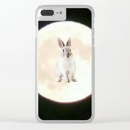 Moonrabbit 6 Clear iPhone Case