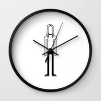 iggy Wall Clocks featuring Iggy Pop  by Band Land