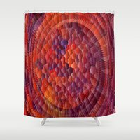 illusion Shower Curtains featuring Illusion... by Cherie DeBevoise