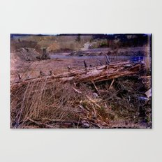 Centralia Outback, revisited Canvas Print