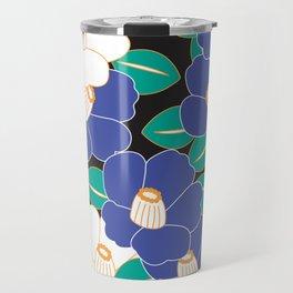 Shades of Tsubaki - Lavender & Black Travel Mug