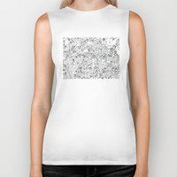 lace Biker Tanks featuring Lace by By Myyna