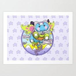 Dream Dragon Art Print