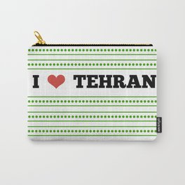 I Love Tehran Carry-All Pouch