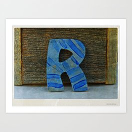 R for your R friends Art Print