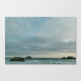 Sutro Baths at Dusk Canvas Print