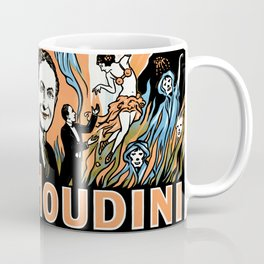 Harry Houdini, do spirits return? Coffee Mug