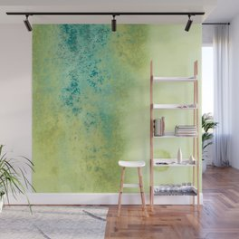 Cerulean Speckled Wall Mural