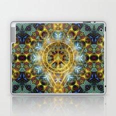 Sacred Geometry Fractal Mandala Laptop & iPad Skin
