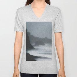 Pacific Northwest Beach Storm Unisex V-Neck