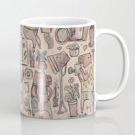 capybaras photo studio Coffee Mug