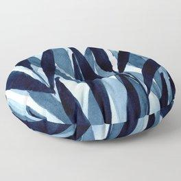 Blue breeze II Floor Pillow
