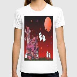 Halloween Pumpkin House T-shirt