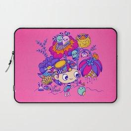 Flower Garden Friends Laptop Sleeve