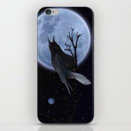 Raven Speak iPhone Skin