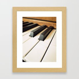 The Fractured Ivories. Framed Art Print