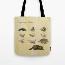 Platypus Embryonic Life Cycle Tote Bag
