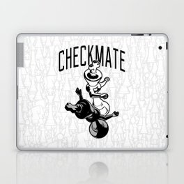 Checkmate Punch Funny Boxing Chess Laptop & iPad Skin