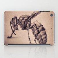 bee iPad Cases featuring Bee by Werk of Art