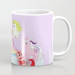 g1 my little pony early characters group Coffee Mug