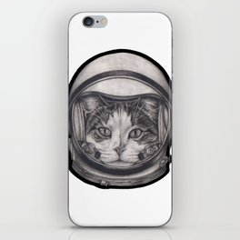 Cat astronaut iPhone Skin