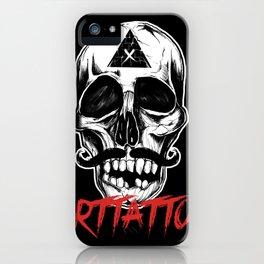 Skull Arttattoo iPhone Case