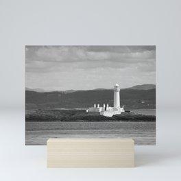 Eilean Musdile Lighthouse, Lismore, Scotland Mini Art Print