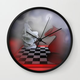 the other Chess-Lady Wall Clock