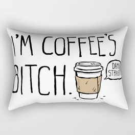 Coffee's Bitch Rectangular Pillow
