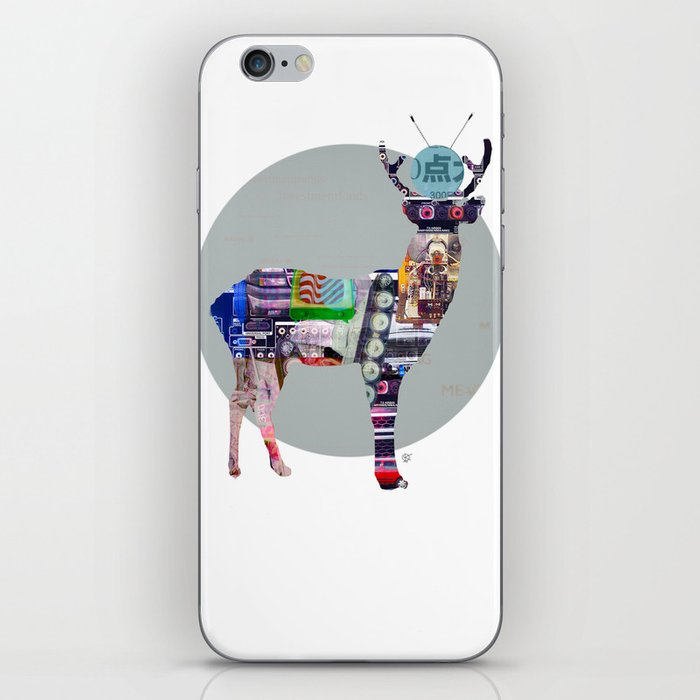 Deer Electric iPhone Skin
