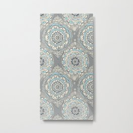 Modern Farmhouse Moroccan Metal Print