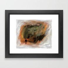 gate Framed Art Print