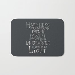 Happiness can be found Bath Mat