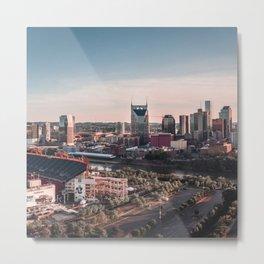Nashville, Tennesse Metal Print