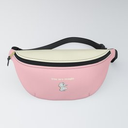 Pink sea pony Fanny Pack