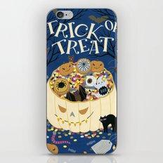 Trick or treat iPhone & iPod Skin