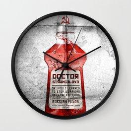Russian Fluor Wall Clock