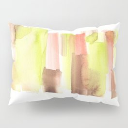 [161228] 23. Abstract Watercolour Color Study|Watercolor Brush Stroke Pillow Sham